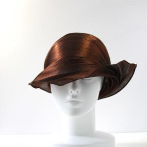 ファッションバイザー メタリック ブラウン|abacastyle