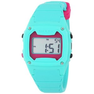 102281 One Size Freestyle Unisex 102281 Classic Green Case Digital Silicone Strap Watch|abareusagi-usa
