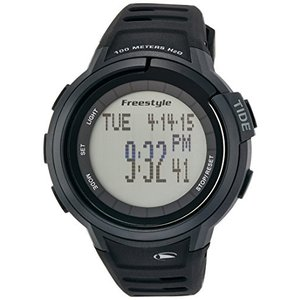 103001 Freestyle Unisex 103001 Mariner Round Black Yacht Timer LCD Watch|abareusagi-usa