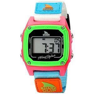 FS84861 38MM Freestyle women's FS84861 Shark Clip Classic Retro Digital Watch Watch with Nylon Band|abareusagi-usa