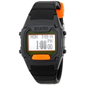 103324 One Size Freestyle Men's 103324 Shark Classic Tide Digital Display Japanese Quartz Black Watch|abareusagi-usa