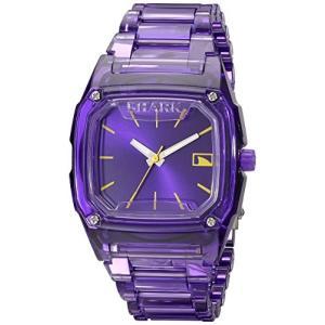 101989 Freestyle Women's 101989 Shark Purple Polycarbonate Watch with Link Bracelet|abareusagi-usa