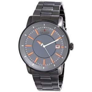 FER02006A0 Orient Men's FER02006A0 Disk Analog Japanese-Automatic Black Watch|abareusagi-usa