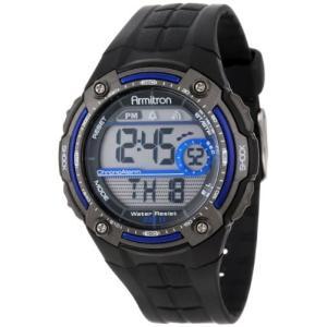 40/8189BLU Armitron Sport Men's Sport Watch with Black Rubber Band abareusagi-usa