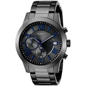 U0668G2 One Size GUESS  Stainless Steel Gunmetal Chronograph Bracelet Watch with Date. Color: Gunmetal (Model: U0668G2) abareusagi-usa