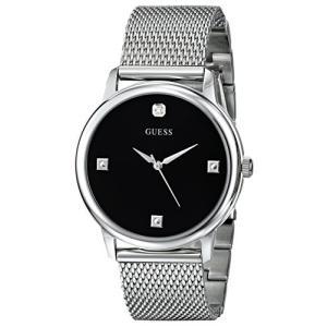 U0280G1 NS GUESS  Stainless Steel Genuine Diamond Mesh Bracelet Watch. Color: Silver-Tone (Model: U0280G1) abareusagi-usa