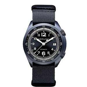 H80495845 Hamilton Khaki Aviation Pilot Pioneer Automatic Blue Dial Blue NATO Fabric Mens Watch H80495845|abareusagi-usa