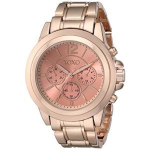 XO5591 XOXO Women's XO5591 Rose Gold-Tone Bracelet Watch abareusagi-usa
