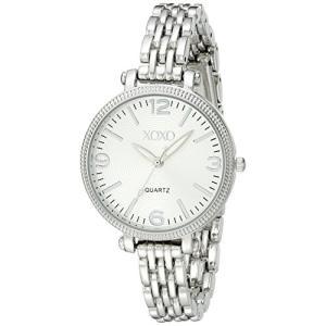 XO5753 XOXO Women's XO5753 Silver-Tone Bracelet Watch abareusagi-usa
