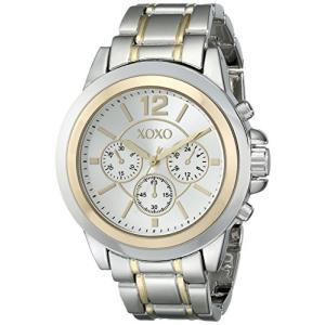 XO5586 XOXO Women's XO5586 Two-Tone Bracelet Watch abareusagi-usa