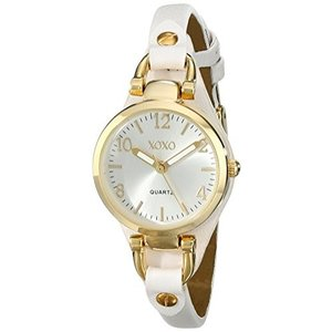 XO3398 XOXO Women's XO3398 Analog Display Analog Quartz White Watch abareusagi-usa