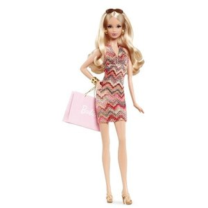 X8256 Barbie Collector The Barbie Look Collection: City Shopper Doll|abareusagi-usa