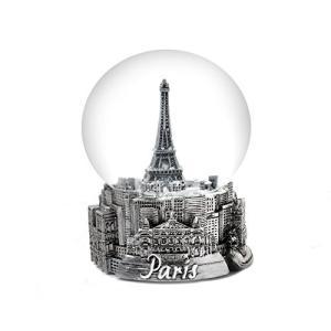 Paris France Eiffel Tower Snow Globe 65mm abareusagi-usa