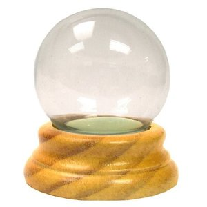 National Artcraft Snow Globe with Wood Base Makes a Fun Project for Do-It-Yourselfers abareusagi-usa