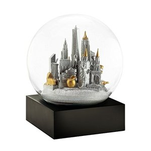 CS281-NYCS CoolSnowGlobes New York City Silver Cool Snow Globe|abareusagi-usa