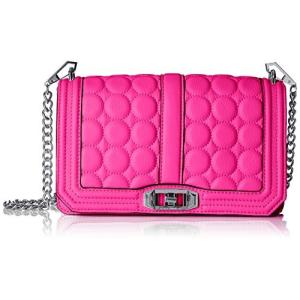 Love Crossbody With Circle Quilt One Size Rebecca Minkoff Love Crossbody With Circle Quilt, Neon Pink|abareusagi-usa