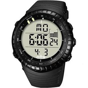 T7005G-02 PALADA Men's Outdoors Sports Digital Wrist Watch Waterproof Tactical Watch with LED Backlight|abareusagi-usa