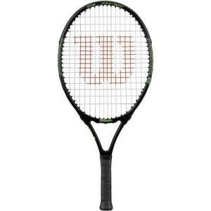 WRT505500 One Size Wilson Racquet Sports Blade 23 JR Tennis Racquet|abareusagi-usa
