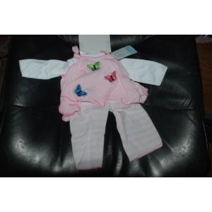 Pink Flutter Doll Outfit By Lee Middleton abareusagi-usa