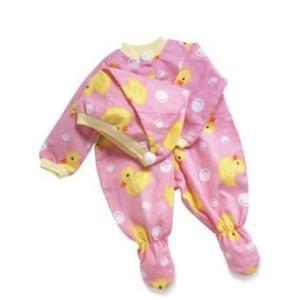 01043 Middleton Doll Pink Duck Sleeper and Hat abareusagi-usa