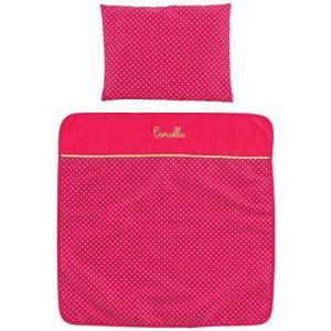 CMW95 Corolle Mon Classique Cherry Blanket and Pillow Set abareusagi-usa