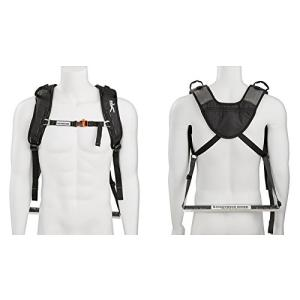 SCOUT (Black) Piggyback Rider Scout Model - Child Toddler Carrier Backpack for Hiking Trails, Camping, Fitness Travel - Black|abareusagi-usa