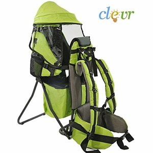 CRS600202 ClevrPlus Cross Country Baby Backpack Hiking Child Carrier Toddler Green|abareusagi-usa