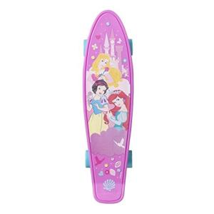 159882 21-Inch PlayWheels Disney Princess 21'' Kids Complete Plastic Skateboard|abareusagi-usa