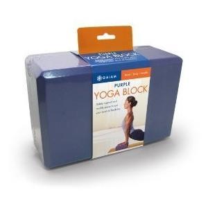 ヨガブロックGaiam Yoga Block - Supportive Latex-Free EVA Foam Soft Non-Slip Surface for Yoga, Pilates, Meditation, Purple