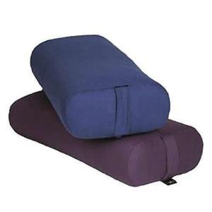 ヨガHugger Mugger Standard Yoga Bolster (Black) | Rectangular Restorative Pillow | Very Firm | Handmade in the USA