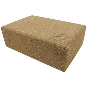 1 pc - 3x6x9 Bean Products Eco Yoga Cork Block - Single - 3 in x 6 in x 9 in - Standard Size
