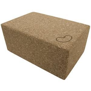ヨガブロックBean Products Eco Yoga Cork Blocks 1 Pack 4 in x 6 x in x 9 in Larger Size