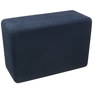 451012590 9''L x 6''H x 4''D Manduka Recycled High Density EVA Foam Yoga Block ? Contoured Edges for Comfort, Firm Stability for