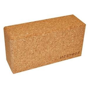 ヨガブロックJade Yoga - Cork Block - Extreme Comfort, Strength, and Stability for Your Yoga Practice (Size Small: 3