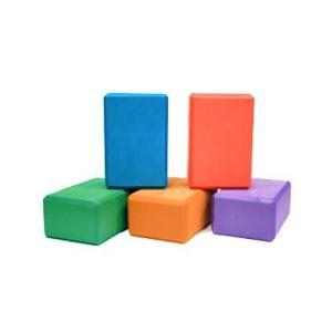 A241BLKPUR4L 4-Inch Yoga Direct 4-Inch Deluxe Foam Yoga Block, Purple