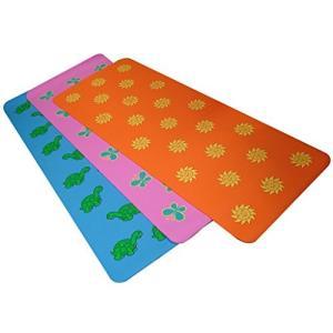 A241MATSUNKD 6.5mm YogaDirect Fun Yoga Mat for Kids - Sun