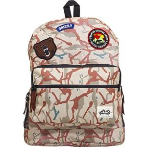 One Size Grizzly Griptape Grizzly Outdoor Goods Backpack TAN CAMO|abareusagi-usa