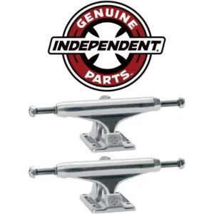 DECK INDEPENDENT Skateboard Trucks 129mm Silver Raw STAGE 11 7.75 in PAIR (2 trucks) abareusagi-usa