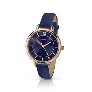 2136.27 Sekonda Women's Quartz Watch with Blue Dial Analogue Display and Blue PU Strap 2136.27|abareusagi-usa