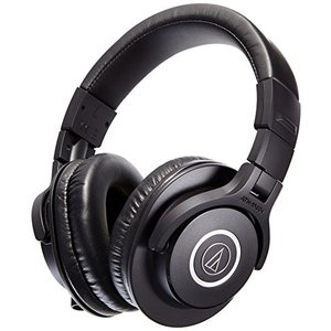 AUD ATHM40X ATH-M40X Audio-Technica ATH-M40x Professional Studio Monitor Headphone, Black|abareusagi-usa