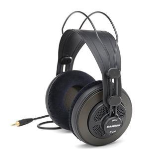 SR850 Over Ear Samson SR850 Semi-Open-Back Studio Reference Headphones|abareusagi-usa