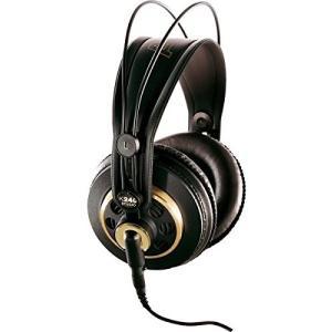 K240STUDIO Gold AKG K240STUDIO Semi-Open Over-Ear Professional Studio Headphones|abareusagi-usa