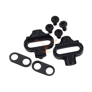 CarbonCycles 1 Pair Shimano Compatible SPD Pedal Cleats with Washers and Screws|abareusagi-usa