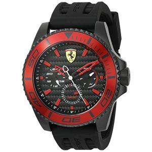 0830310 Ferrari Men's 0830310 XX KERS Analog Display Japanese Quartz Black Watch abareusagi-usa