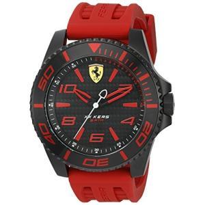 0830308 Ferrari Men's 0830308 XX KERS Analog Display Japanese Quartz Red Watch abareusagi-usa