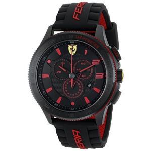 0830138 Ferrari Men's 0830138 Scuderia XX  Silicone Band Watch abareusagi-usa