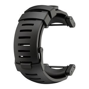 SS018816000 One Size SUUNTO Core Rubber Replacement Strap (Black) abareusagi-usa