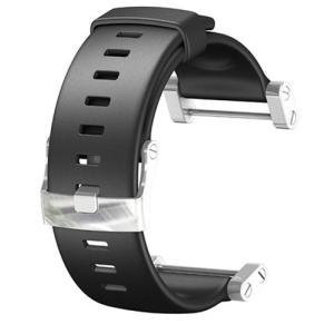 SS013338000 One Size Suunto Core Wrist-Top Computer Watch Replacement Strap (Flat Black) abareusagi-usa