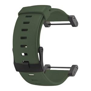 SS0188191000 Suunto Core Accessory Strap Army Green Rubber Band Black Buckle Adapter abareusagi-usa