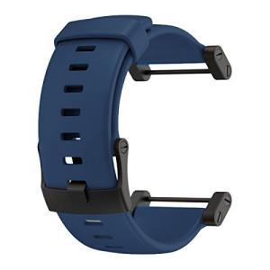 SS0188191000 Suunto Core Accessory Strap Navy Blue One Size Rubber Band Black Buckle Adapter abareusagi-usa